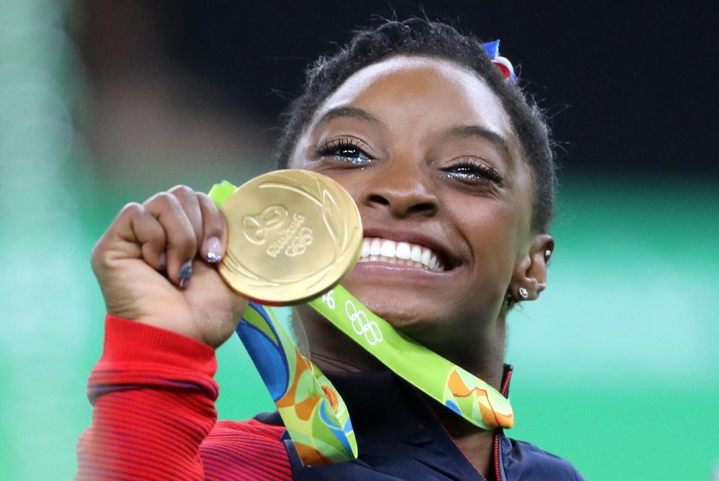 Simone Biles, piccola grande stella della ginnastica