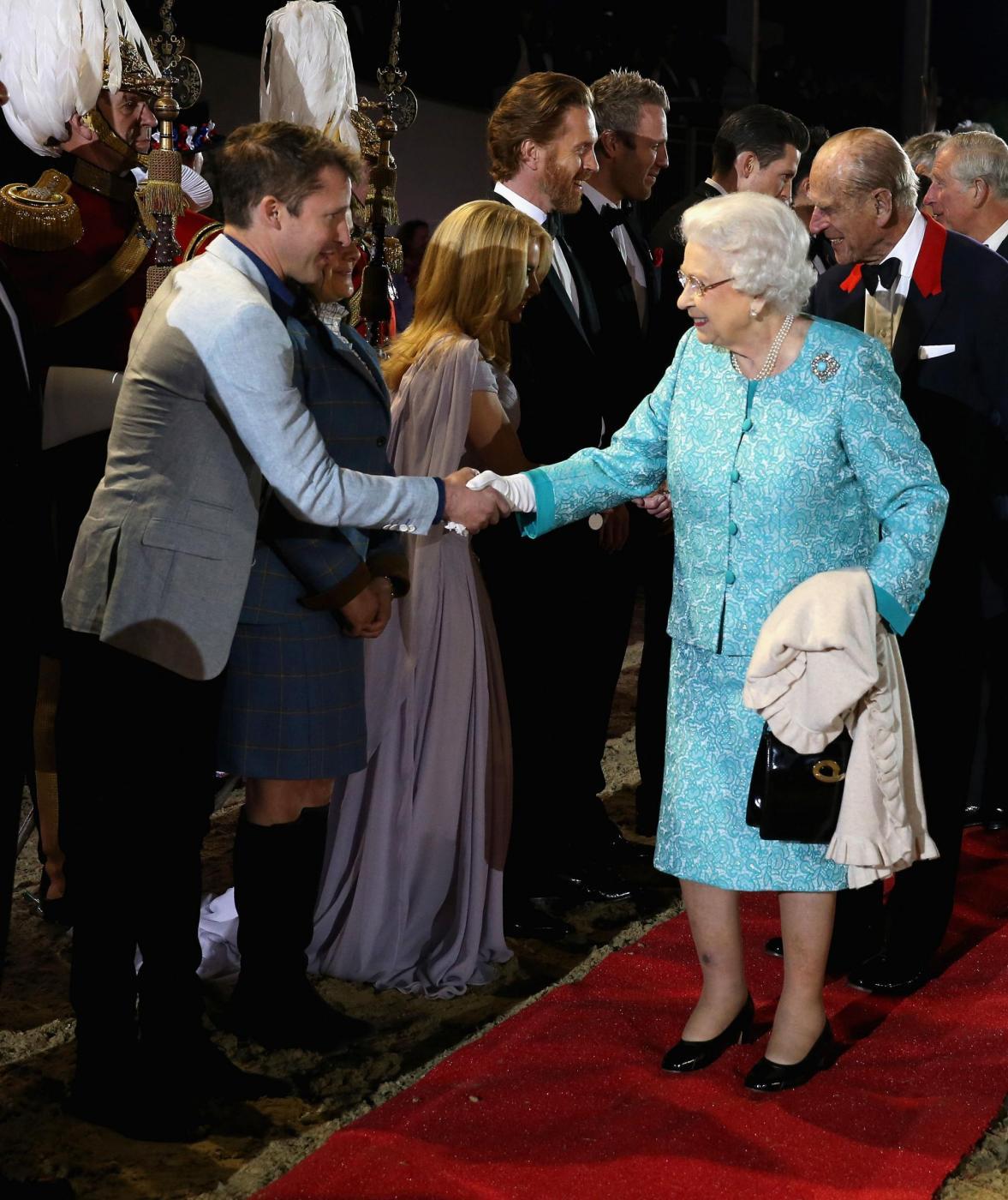 Elisabetta II, tante star a Windsor per la grande festa alla sovrana