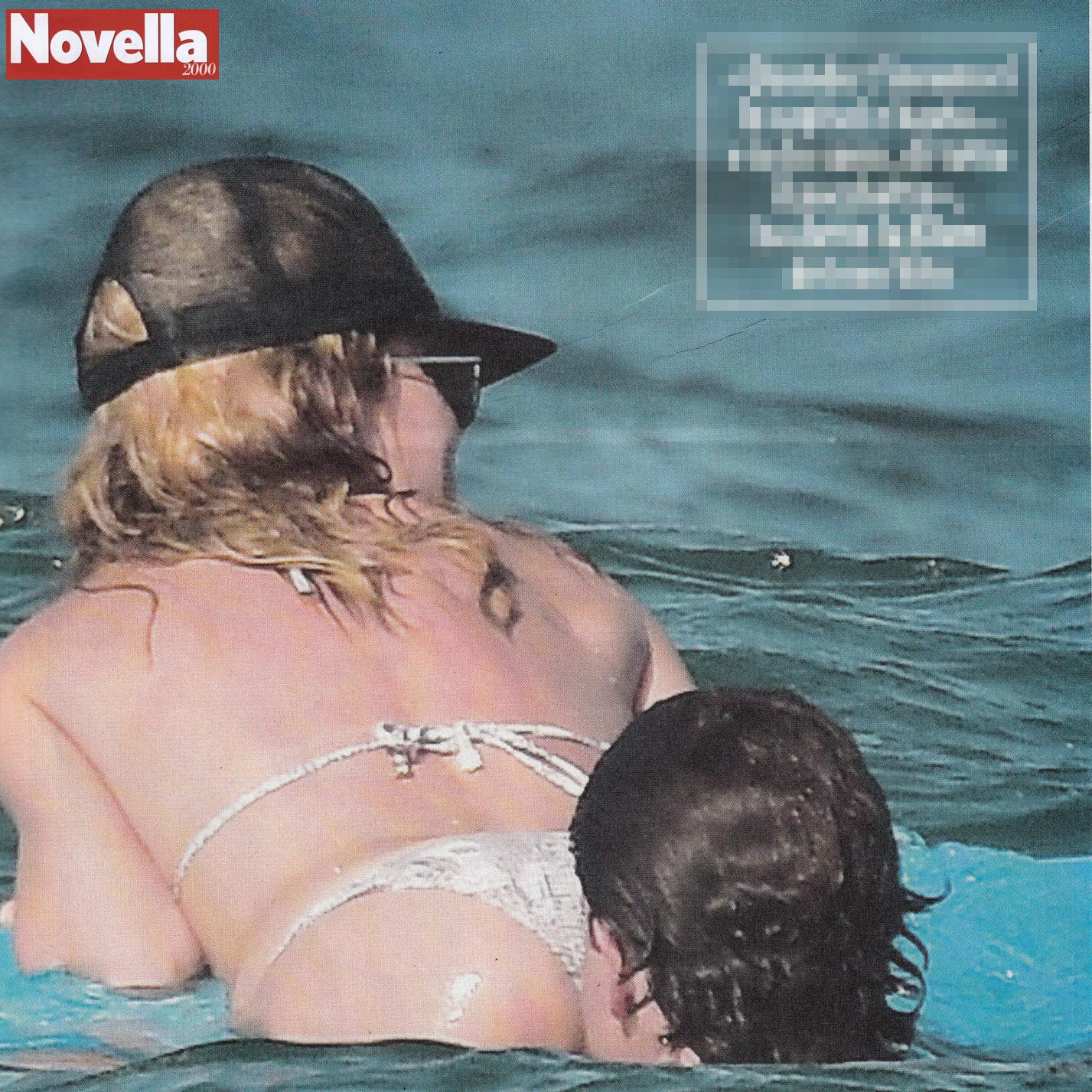 Heidi Klum, il fidanzato le morde il sedere