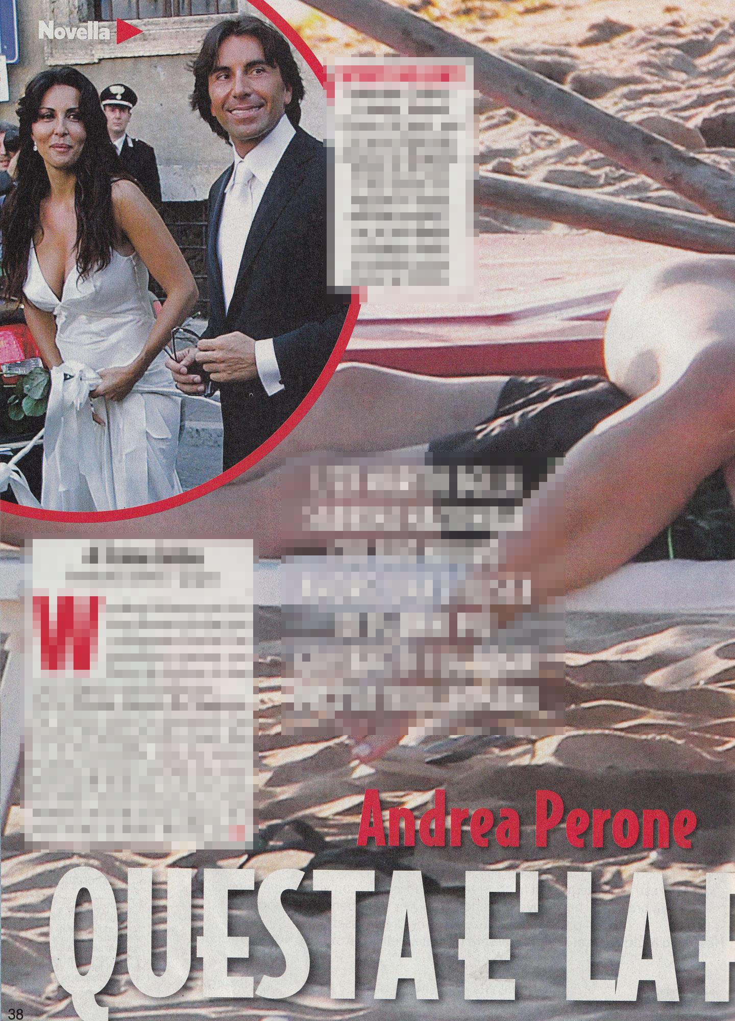 Andrea Perone, l ex della Ferilli  spoglia  una stilista