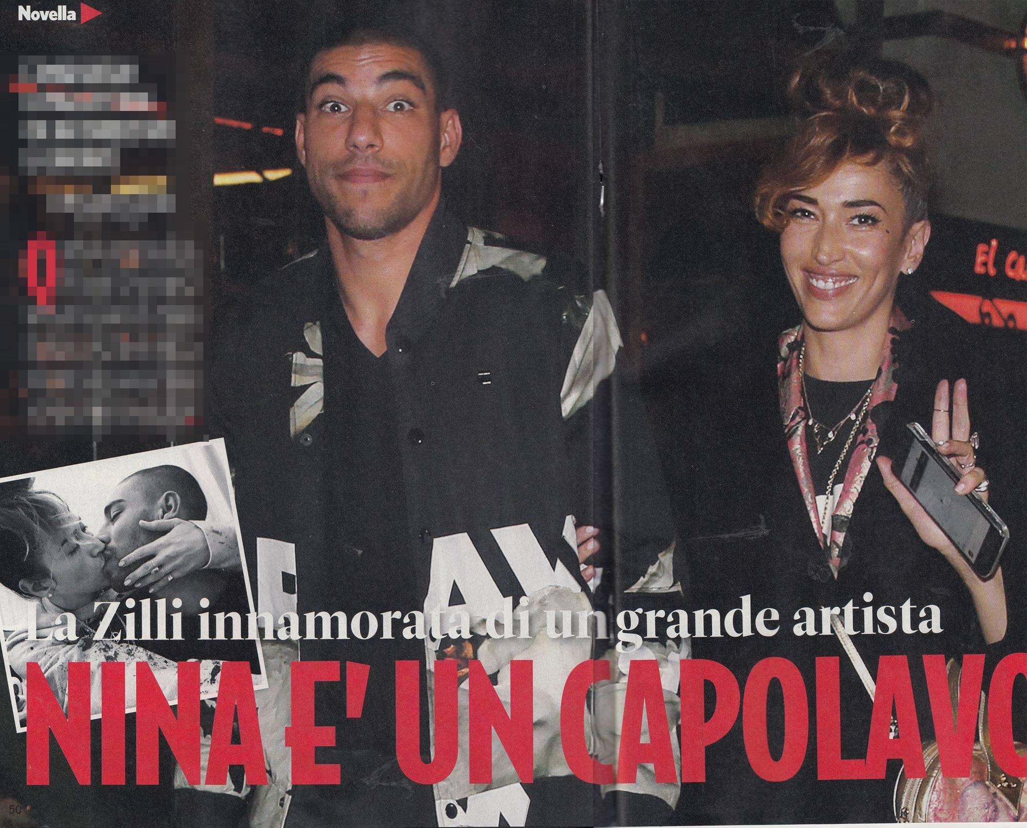 Nina Zilli e Omar Hassan, coppia al bacio