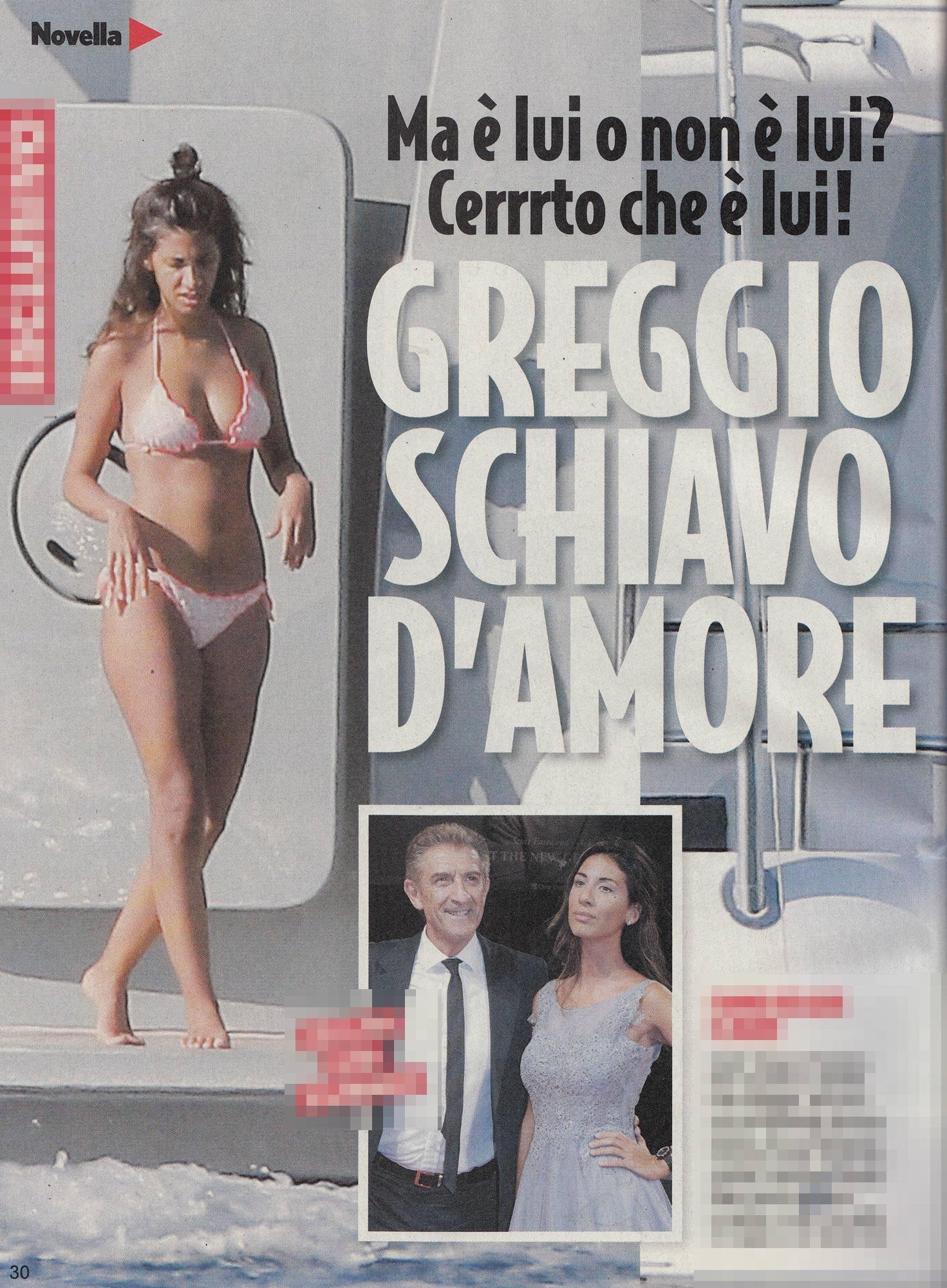 Ezio Greggio, amore a gonfie vele con la bella Simona