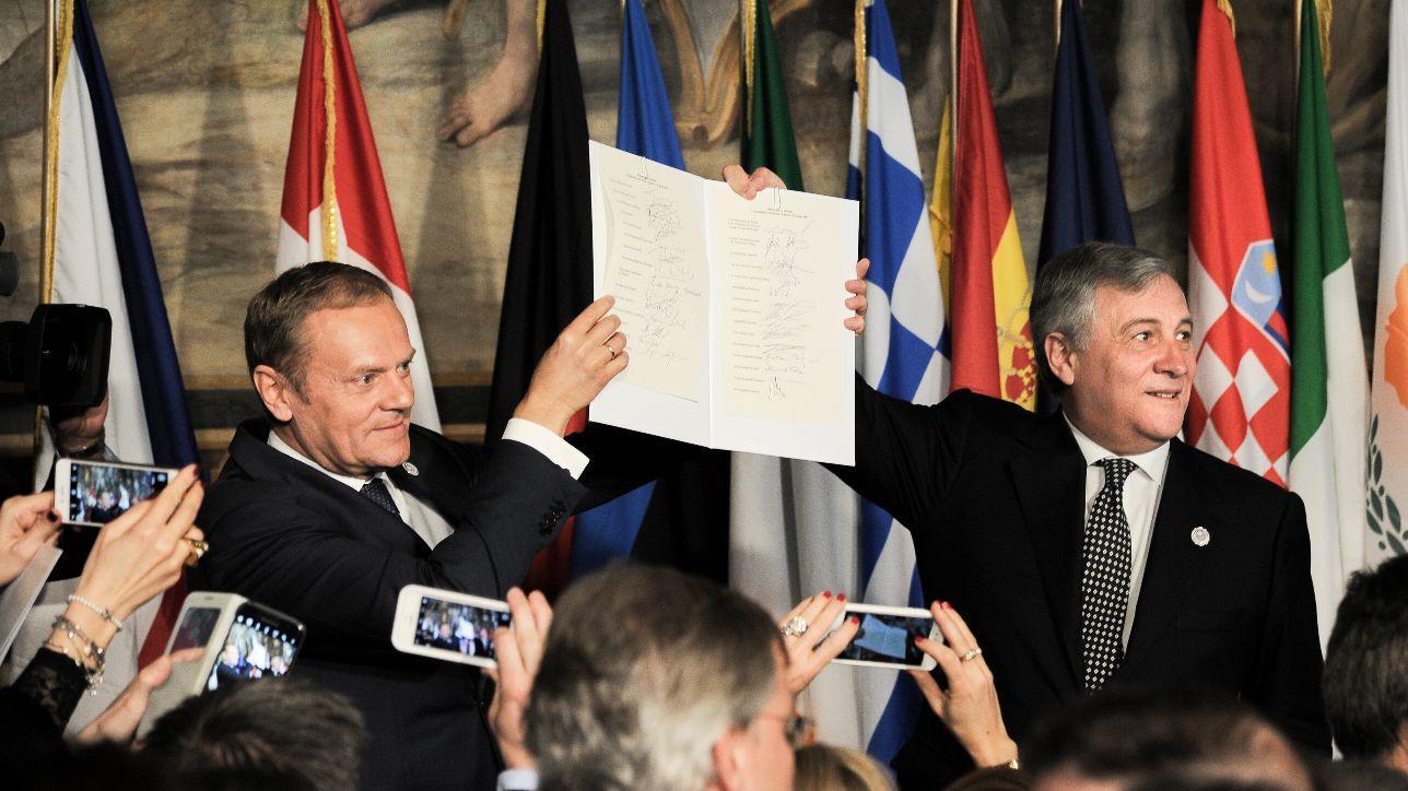 Roma, i leader di 27 paesi  alle celebrazioni per i 60 anni dei Trattati fondativi dell'Unione Europea
