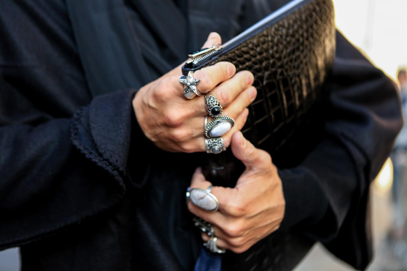 arte squisita stili di grande varietà più economico Uomo, mode e ispirazioni: i signori degli anelli - Tgcom24