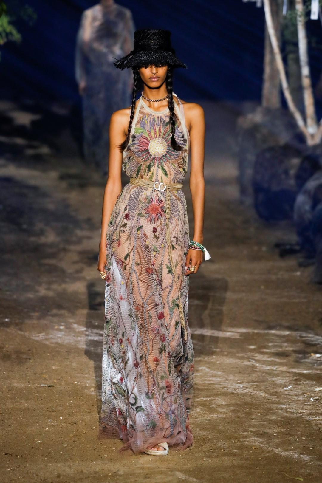 Dior primavera-estate 2020: un ode alla natura