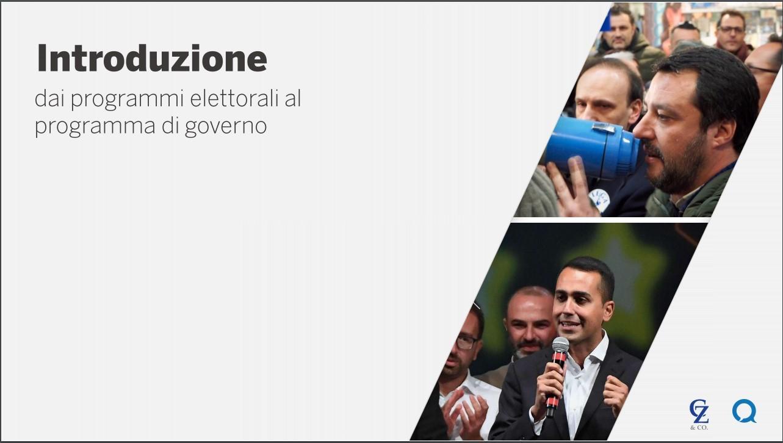 Contratto di governo firmato da M5s-Lega, l analisi di Quorum/YouTrend e Cattaneo Zanetto e Co