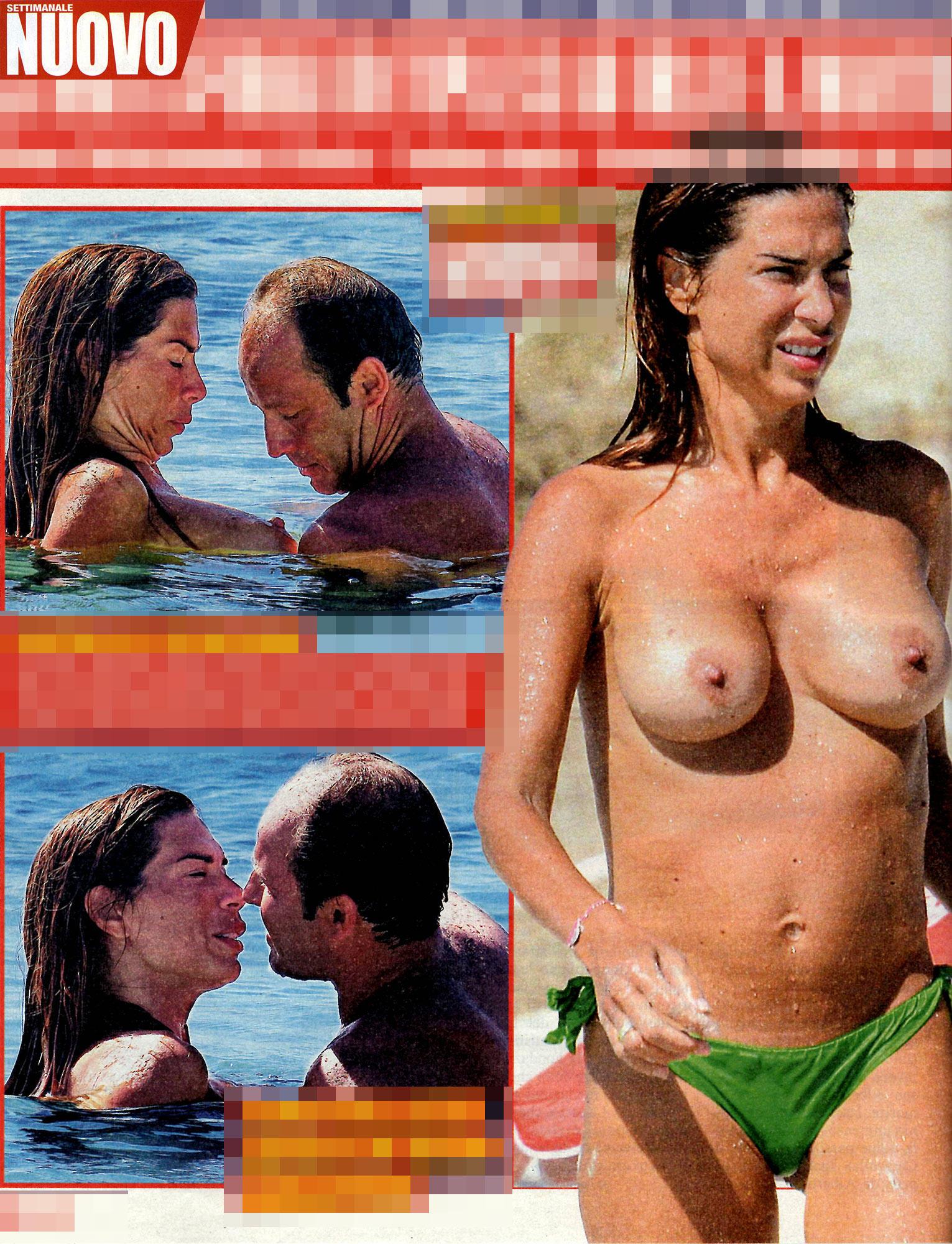 Veronica Maya, topless da urlo
