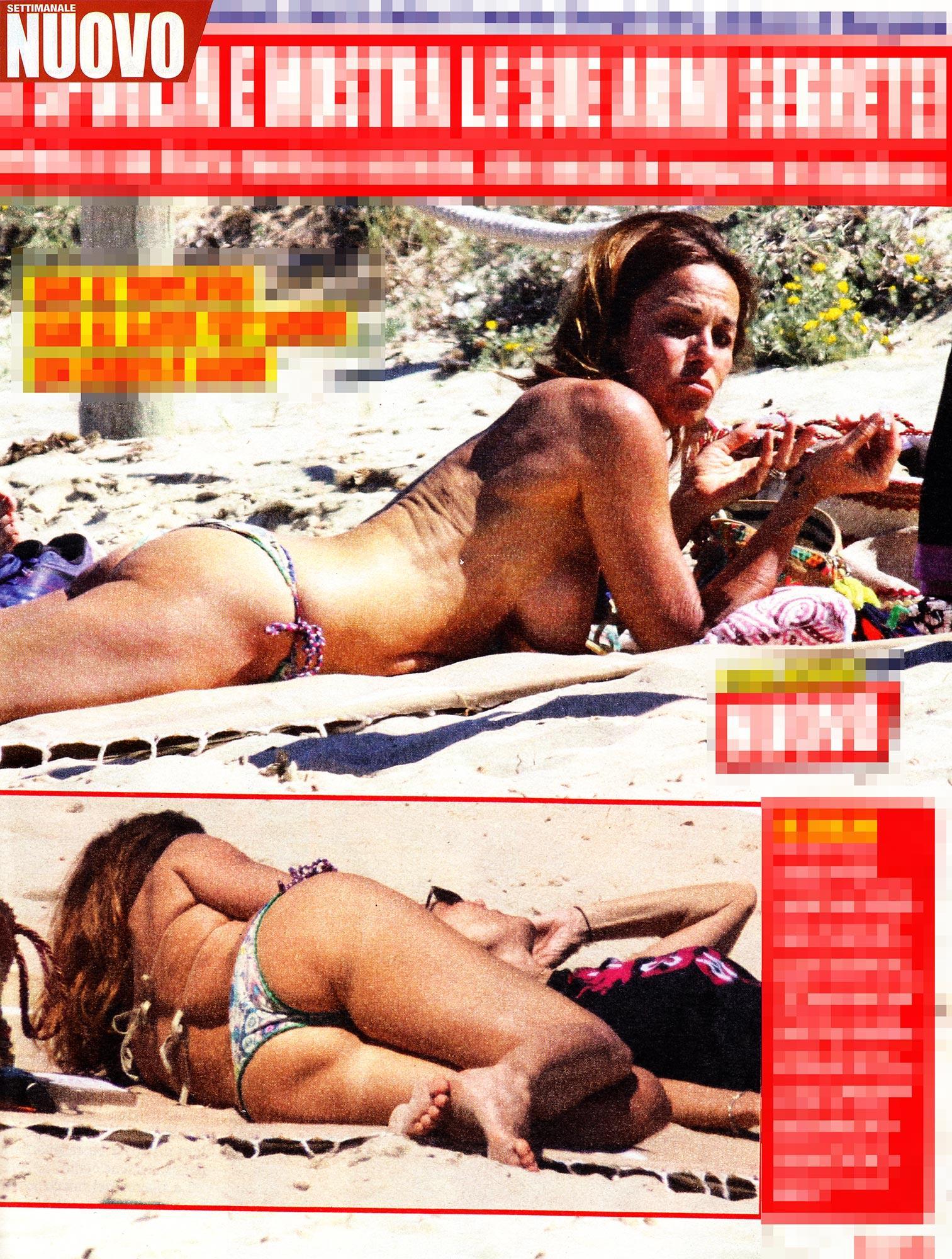 Al via la stagione dei topless: Cristina Parodi ma non solo