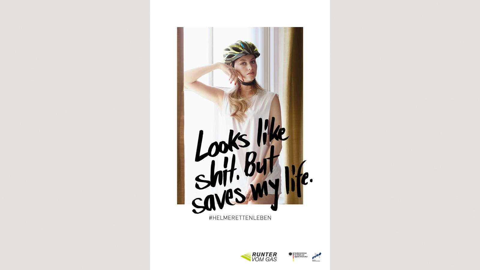 Germania, è polemica per la pubblicità progresso sul casco in bici