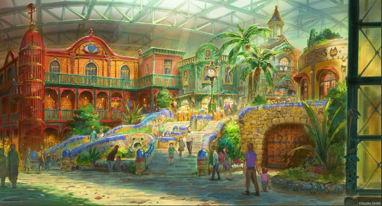 Ghibli Park, i concept art del parco tematico