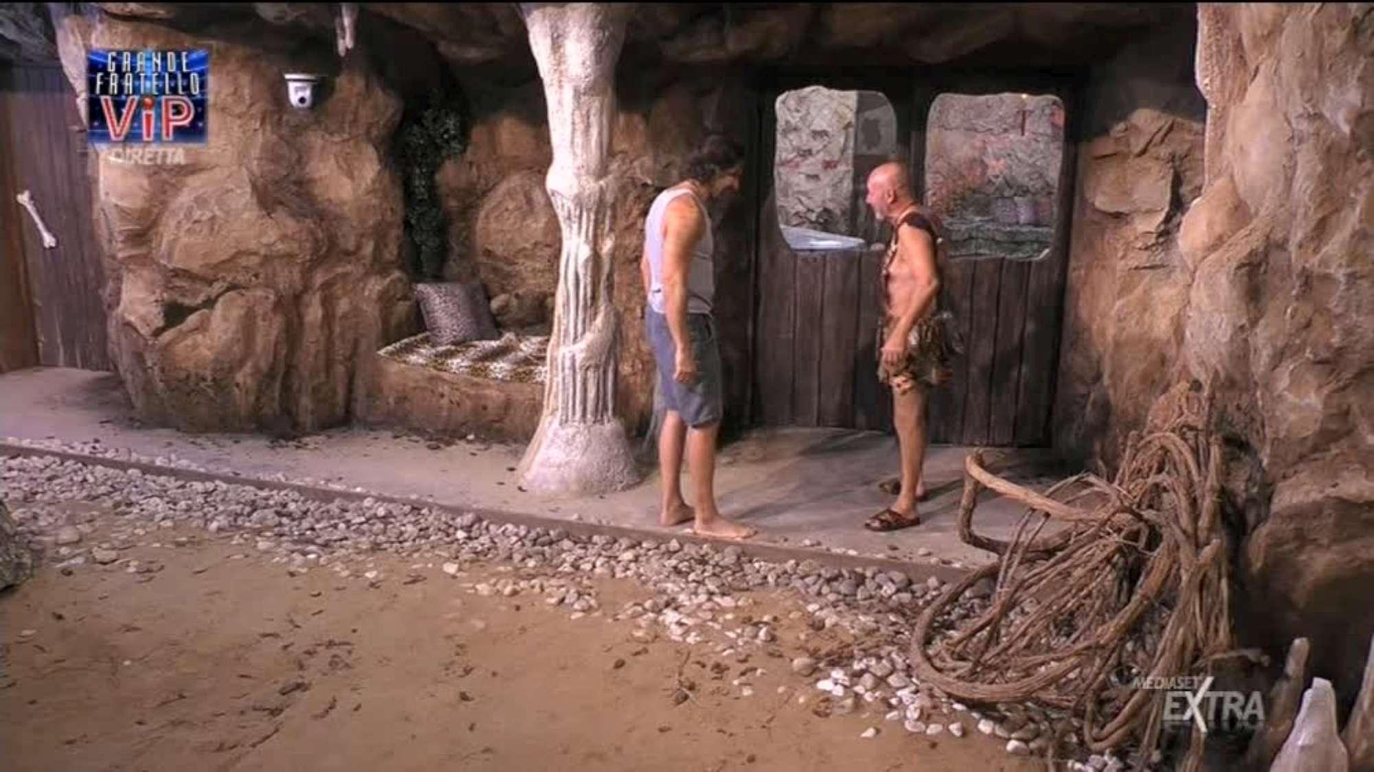 Grande Fratello Vip , il reality apre le porte della Caverna