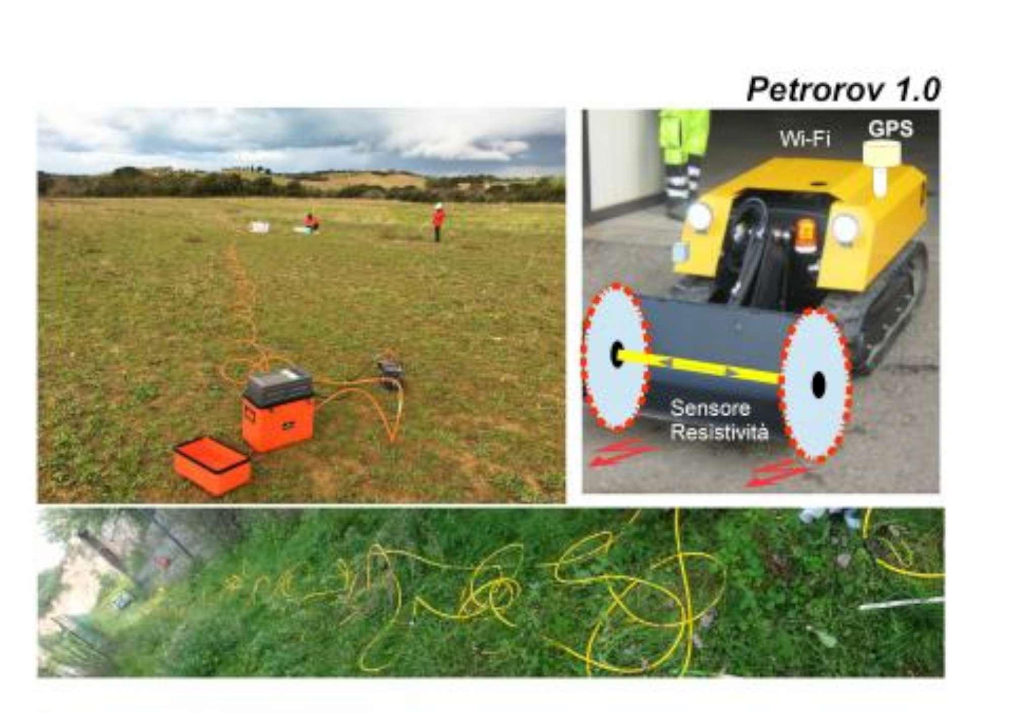 Petrorov, il robot italiano che monitora l ambiente