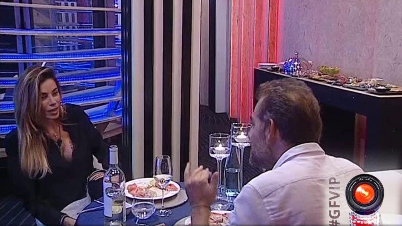 Daniele Bossari e Aida Yespica, che cena romantica!