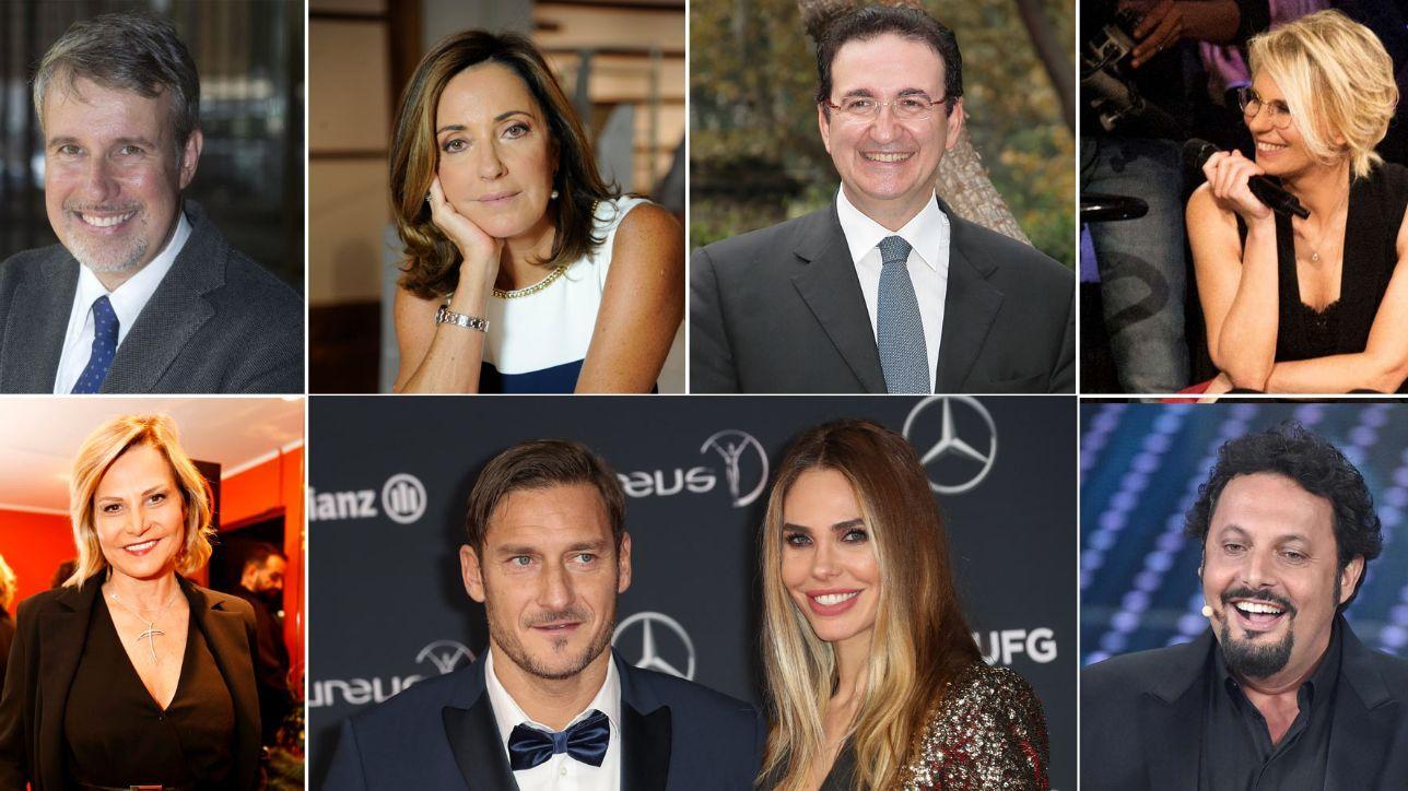 Palinsesto Mediaset, i volti della prossima stagione