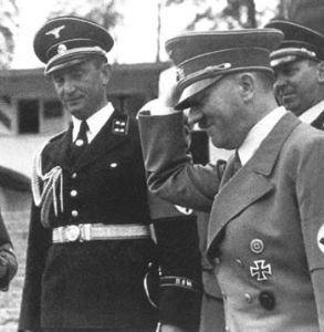 Il rapporto tra Eugen Dollmann e i capi del Nazismo