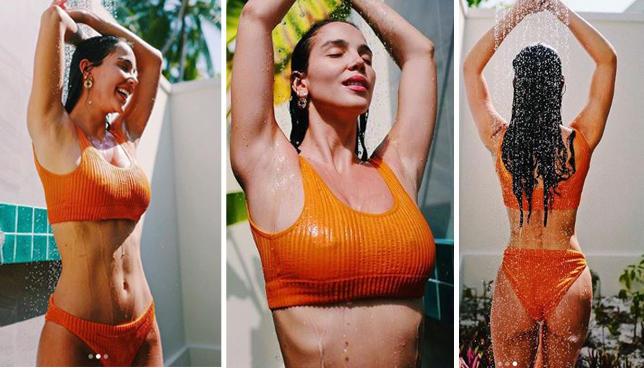 Paola Di Benedetto, doccia bollente alle Maldive