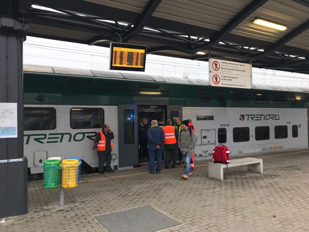 Treno deragliato, l hub per i primi soccorsi alla stazione di Segrate