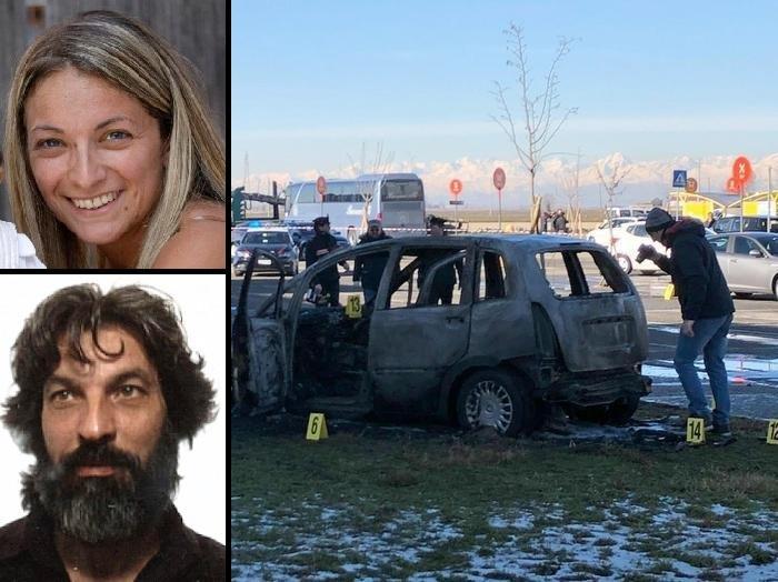 Vercelli, speronata in auto dall ex che le dà fuoco: è grave