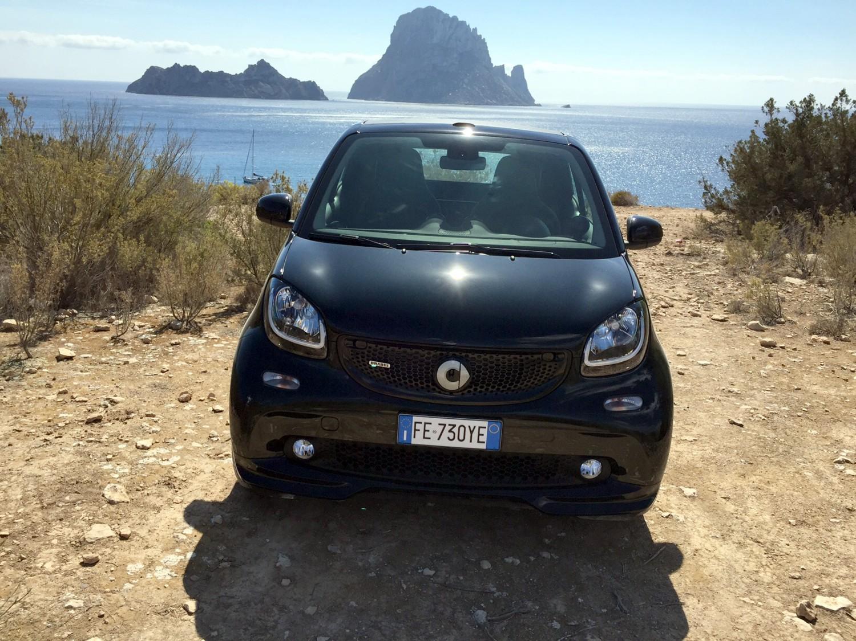Smart Brabus a Ibiza