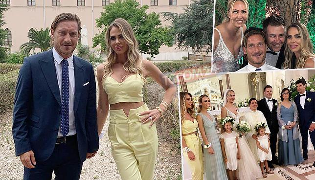 Totti va a nozze, si è sposata la sorella di Ilary Blasi: guarda tutte le foto