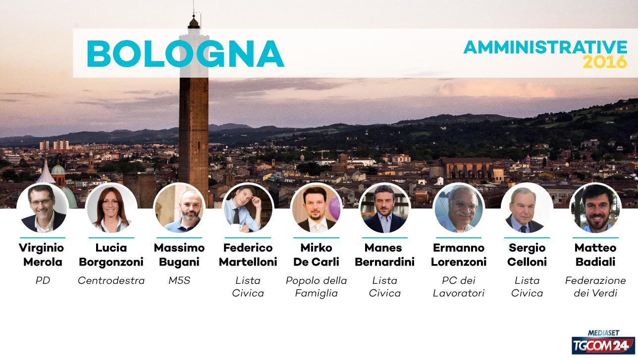 Elezioni 2016, chi sono i 9 candidati sindaco di Bologna