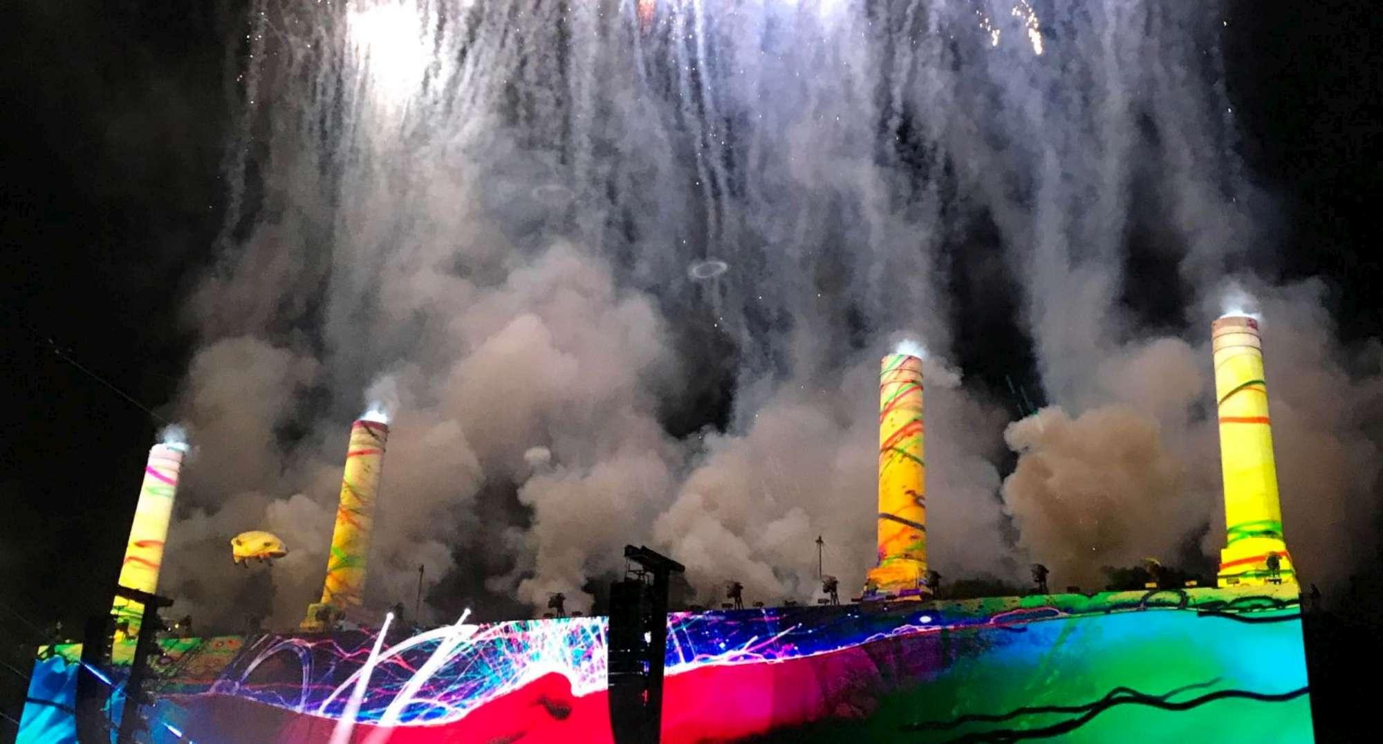 Roger Waters, le immagini del live di Lucca