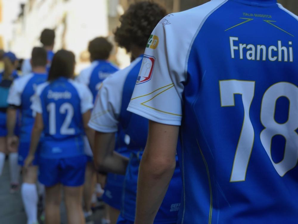 I mondiali di quidditch 2018 a Firenze