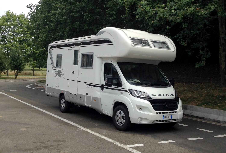 Il camper Laika Ecovip1
