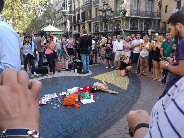 Barcellona, le foto dalla Rambla inviate dai lettori di Tgcom24
