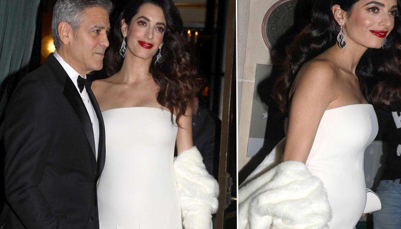 George Clooney e Amal sono diventati genitori
