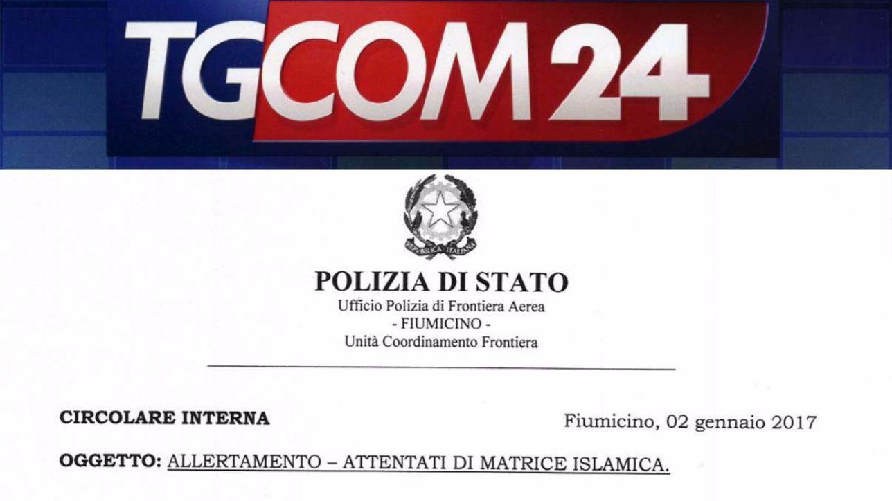 Terrorismo, la polizia: possibili attentati tra il 2 e il 6 gennaio