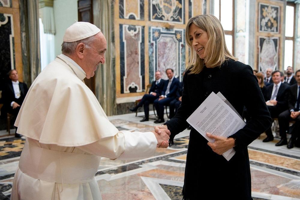 Il Papa riceve una delegazione del  Premio Biagio Agnes