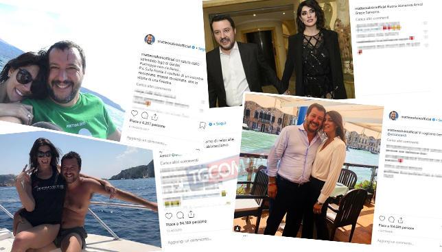 Salvini-Isoardi, guarda quel che resta di un amore social