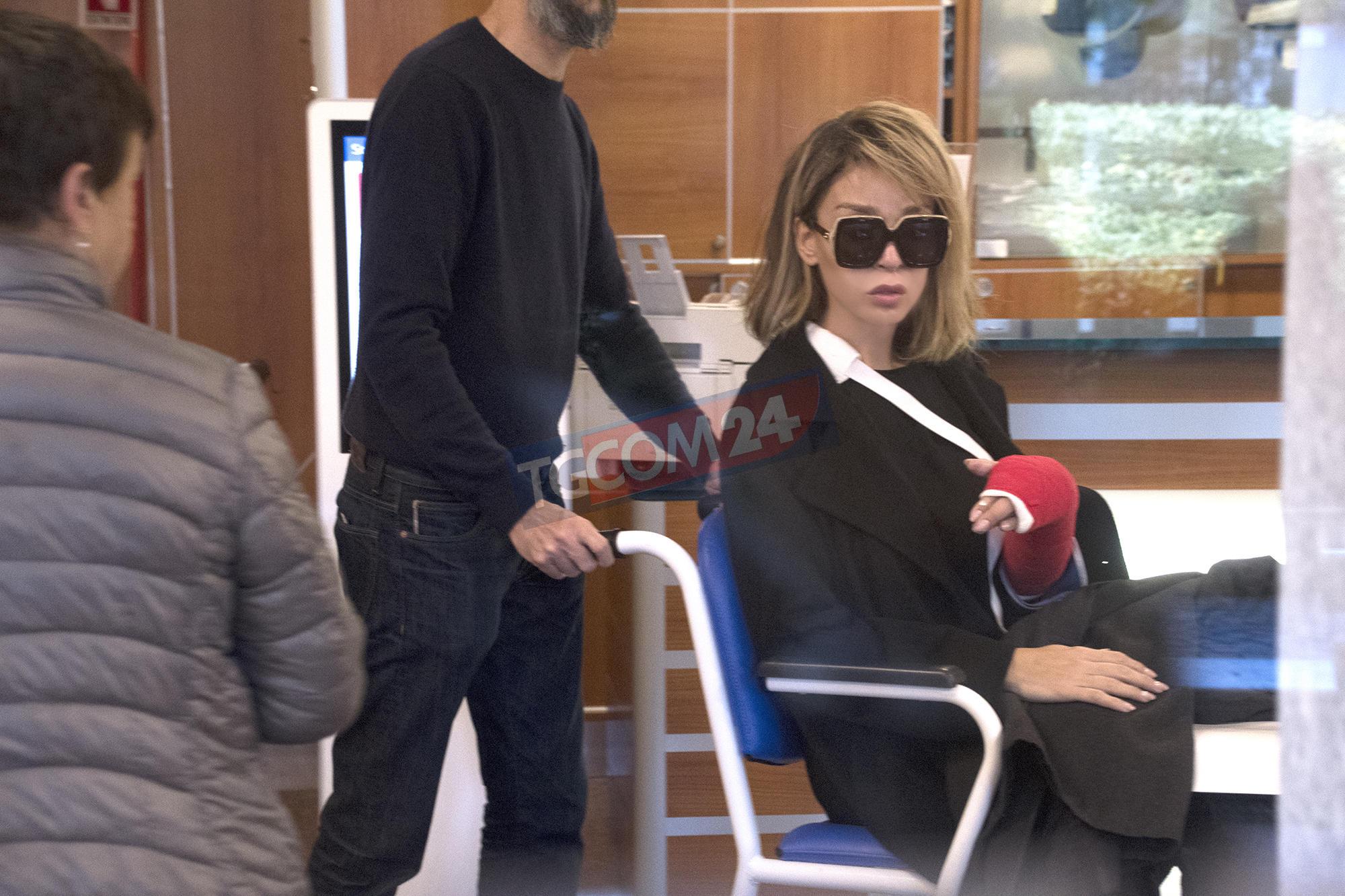 Vittoria Schisano in ospedale, le immagini esclusive di Tgcom24