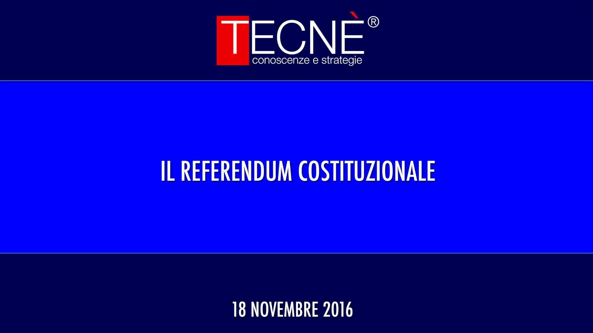 Referendum, il sondaggio Tecnè per Tgcom24: il No avanti del 7,6%