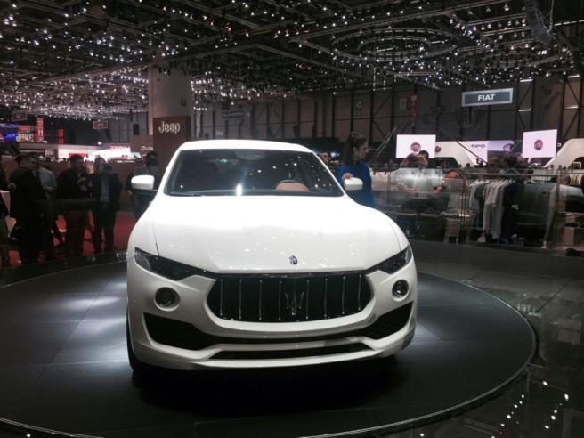 Maserati Levante, il primo Suv