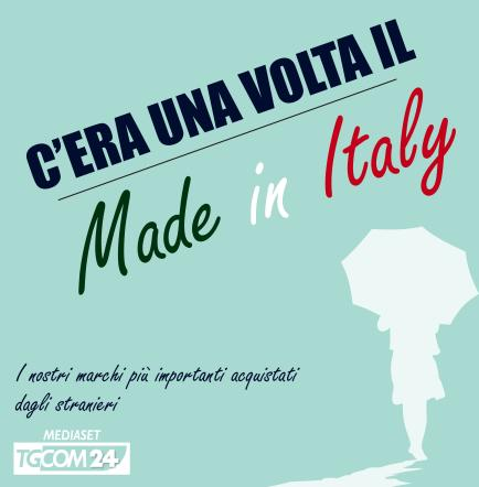 C era una volta il Made in Italy