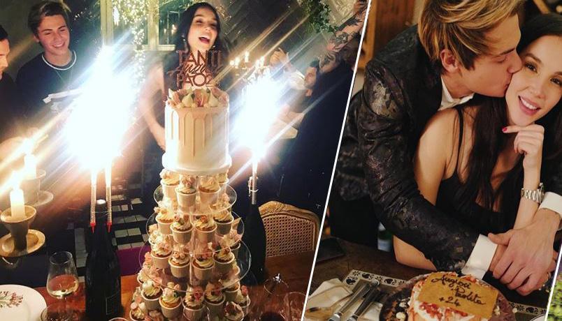 Paola Di Benedetto spegne 24 candeline, guarda la festa con (Benji e) Fede