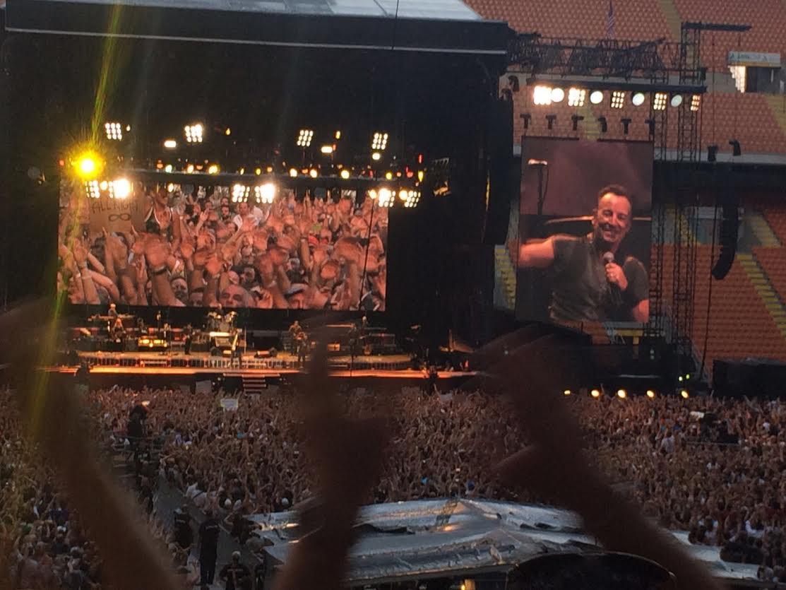 Il benvenuto di Milano a Bruce Springsteen
