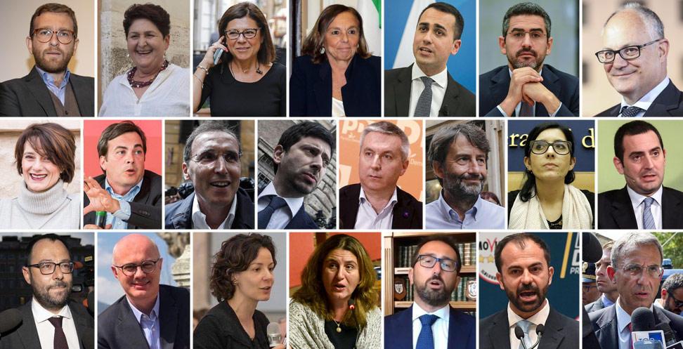 Governo Conte 2: ecco tutti i ministri