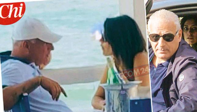 Elisa Isoardi, relax al mare con l amico Andrea