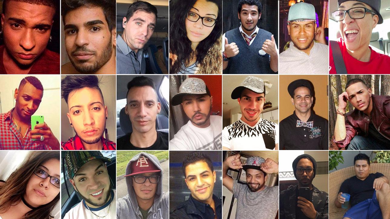 Strage di Orlando, i nomi e i volti delle vittime