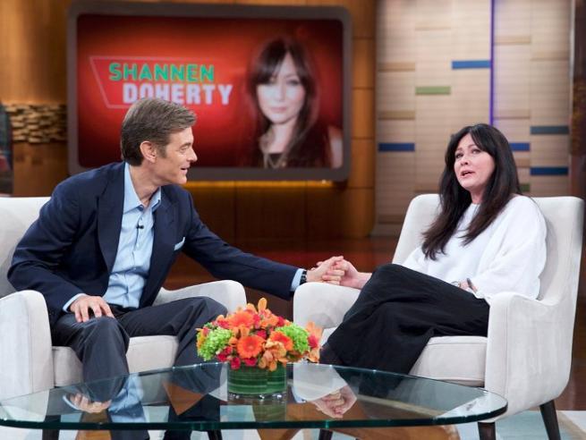Beverly Hills , Shannen Doherty in lacrime:  Non posso avere figli per il cancro al seno