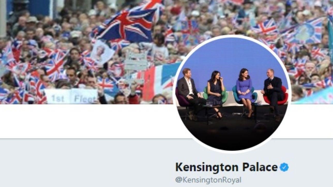 Royal Wedding, il day after? Meghan entra di diritto nell'account Twitter di Kensington Palace