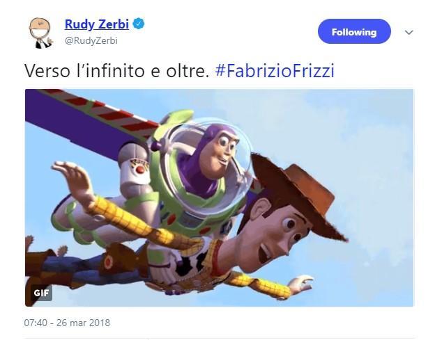 Addio a Frizzi, sui social il saluto dei colleghi