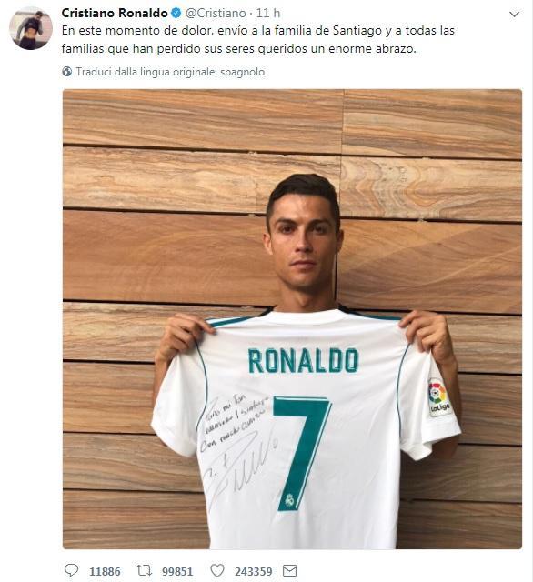 Dona Al La Autografata MessicoCristiano Ronaldo Sua Numero 7 sBtCxrdhQo