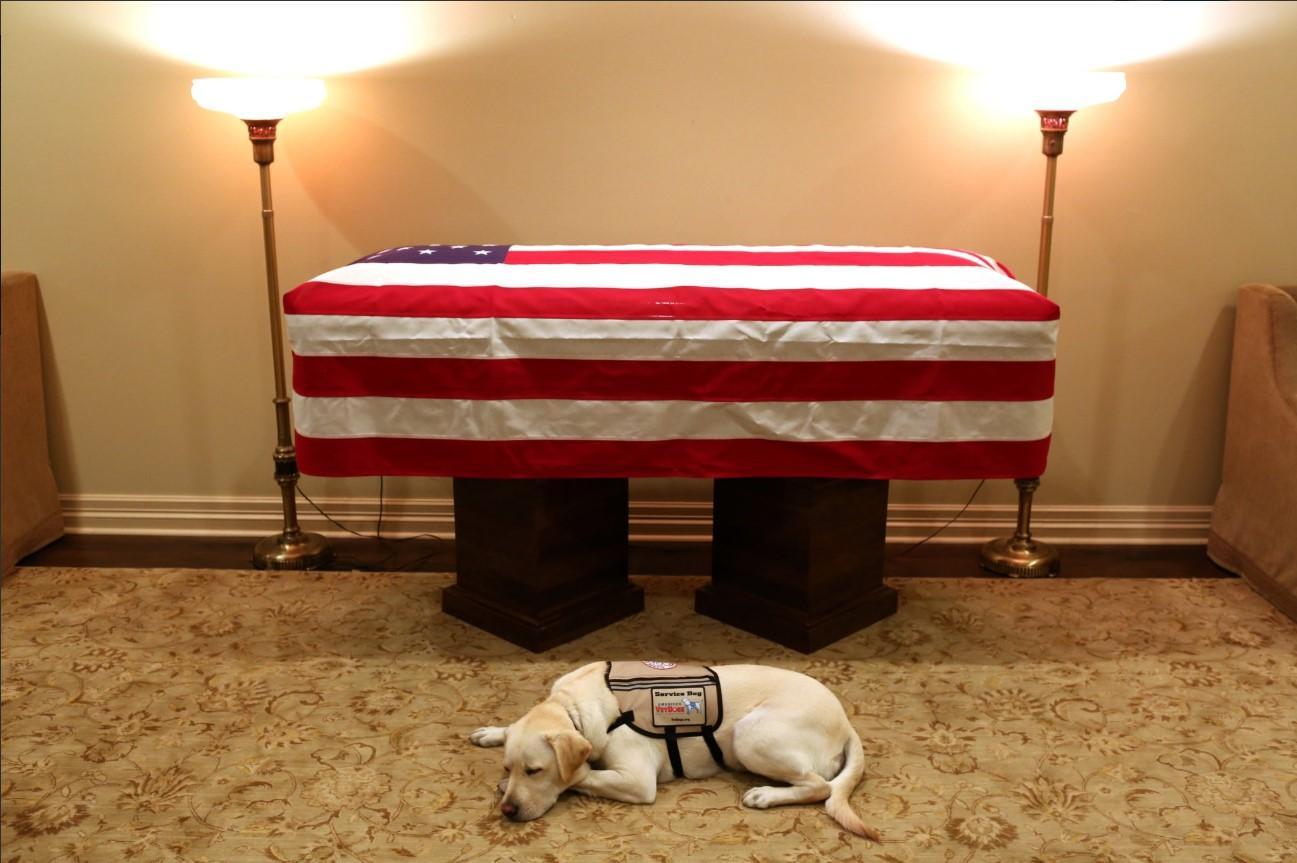L'addio a George H.W. Bush: commozione a Capitol Hill