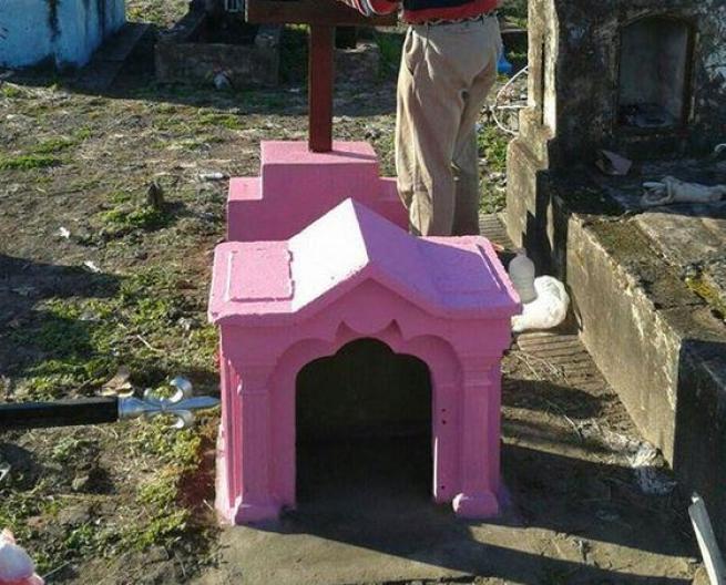 Argentina, un cane alla Casa Rosada