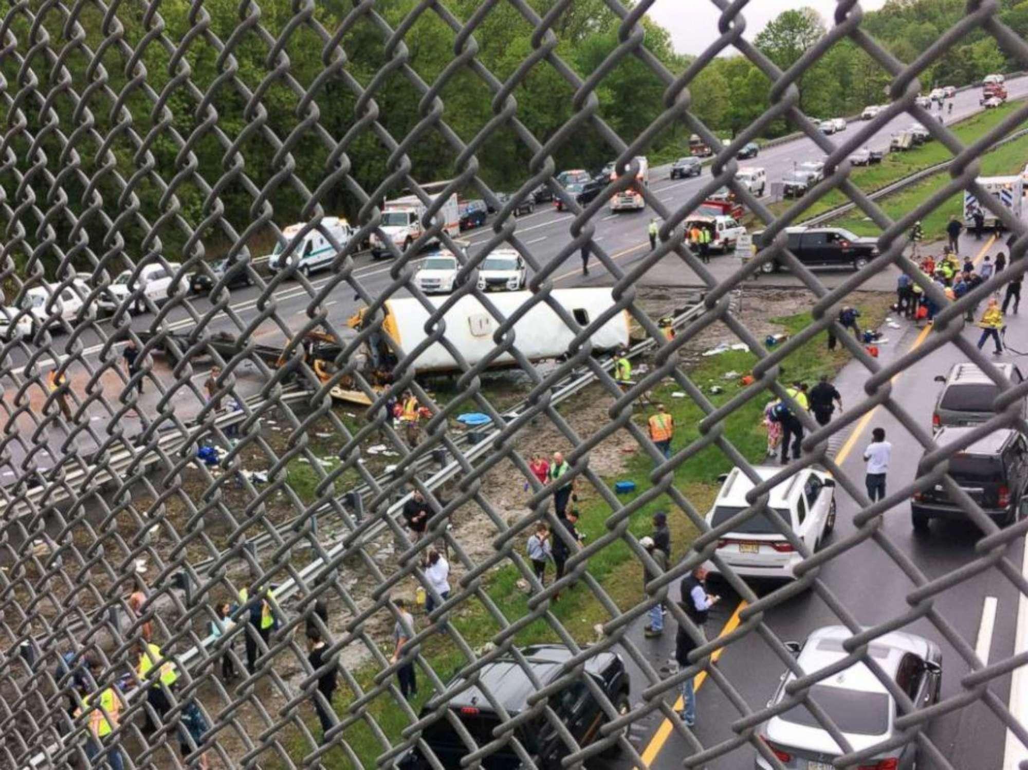 Usa, spaventoso incidente per uno scuolabus