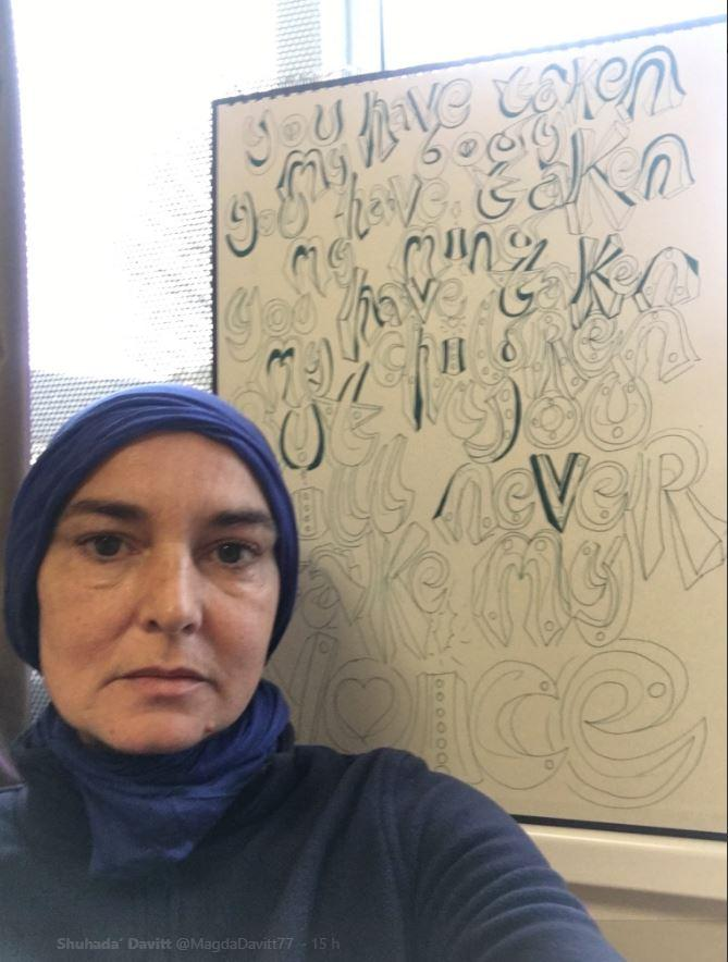 Sinead O Connor si è convertita a Maometto